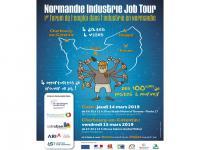700 candidats au Normandie Industrie Job Tour de Caen et Cherbourg les 14 et 15 mars