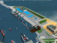 Le chantier de l'avant-port de Ouistreham lancé